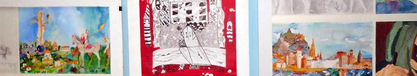 """Виставка робіт переможців Міжнародного конкурсу """"Нюрнберг-Дюрер-ХХІ"""" та творчих робіт чеських художників """"Всупереч"""""""