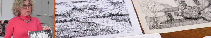"""Майстер-клас Білецької Світлани Анатоліївни """"Графічні техніки"""""""